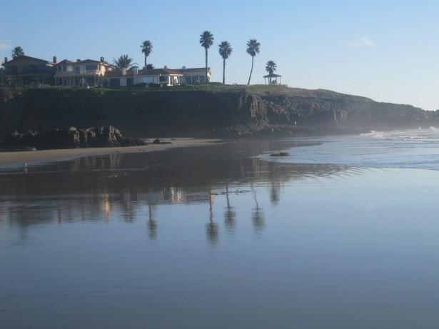 La location d'une villa au bord de la mer