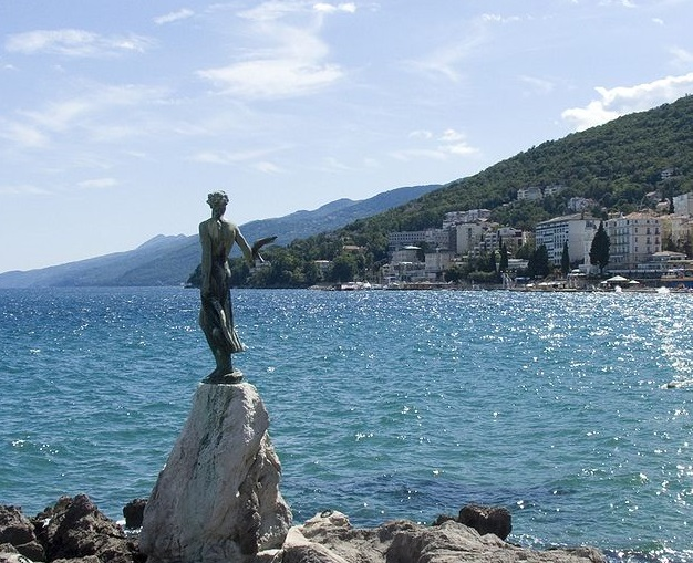 Vacances au bord de la mer en Opatija