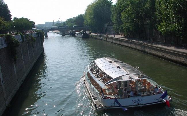 Voyage en France sur la Seine