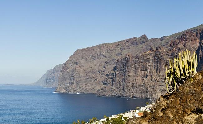 Les falaises de Tenerife