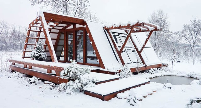 Bien au chaud en hiver ©Soleta.ro