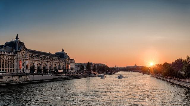 La Seine au petit matin