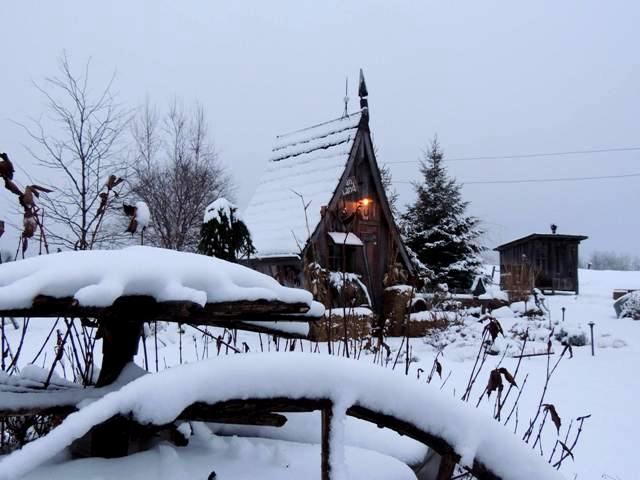 L'hiver bien au chaud ©The Rustic Way