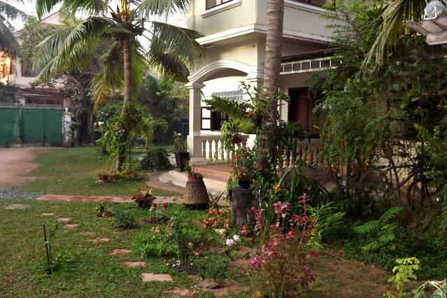 Maison avec jardin au Cambodge