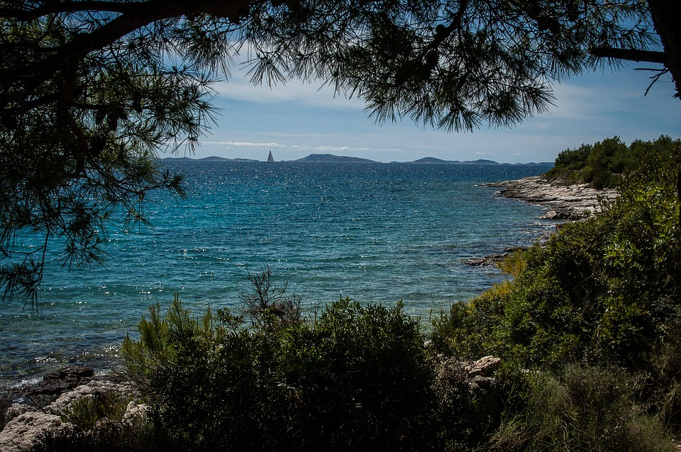 Paysage sauvage de l'archipel des kornati