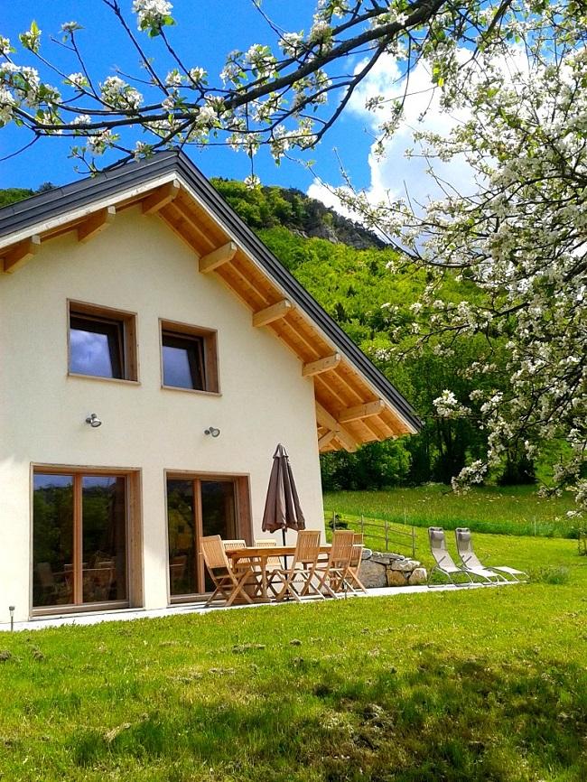 La nature luxuriante de la Savoie