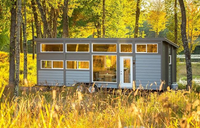 Tiny House en pleine nature ©escapetraveler