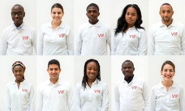 Jeunes francophones volontaires ©OIF