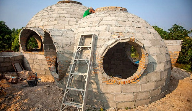 La maison prend forme © steveareen