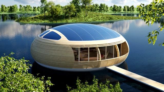 Maison flottante ©Giancarlo Zema
