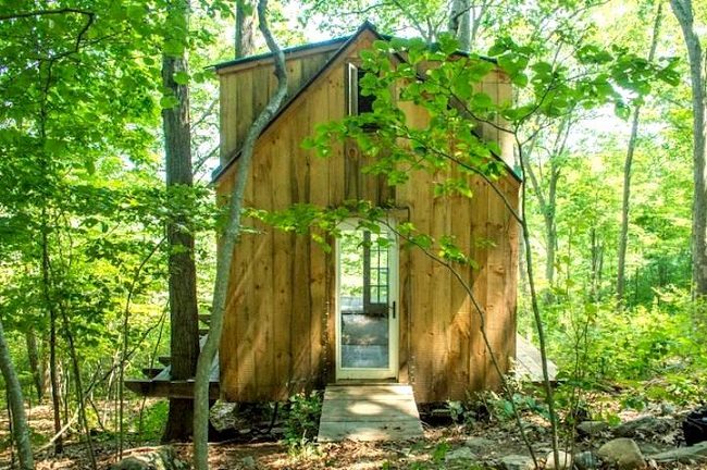 Petite cabane en bois ©Sarah Grote