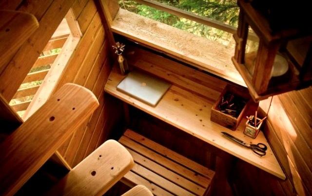 Le petit coin bureau ©Joel Allen