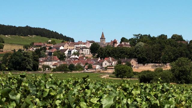 Village pittoresque en Bourgogne