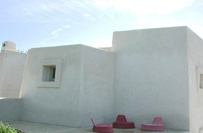 Maison avec murs en tuf ©0-co2 architettura sostenibile