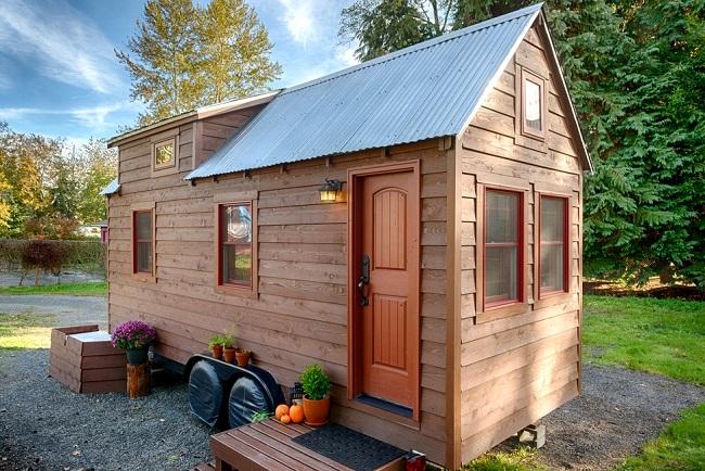 Micro maison sur roues ©chrisandmalissa