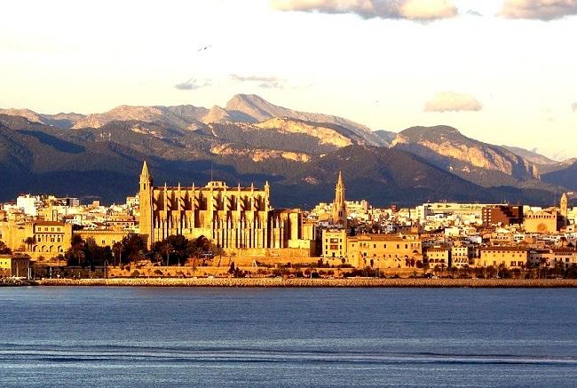 Vue magnifique de Palma de Majorque