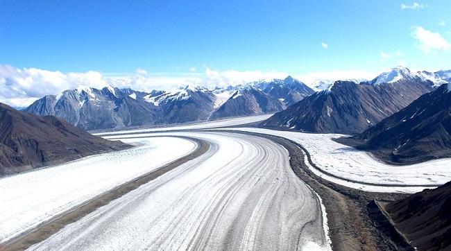 Parc National Kluane dans le Yukon