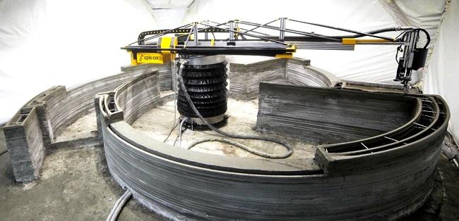 Imprimante 3D de Apis Cor ©Apis Cor