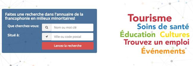 Module de recherche de Connexion Franco
