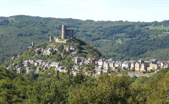 Village de Najac en Aveyron