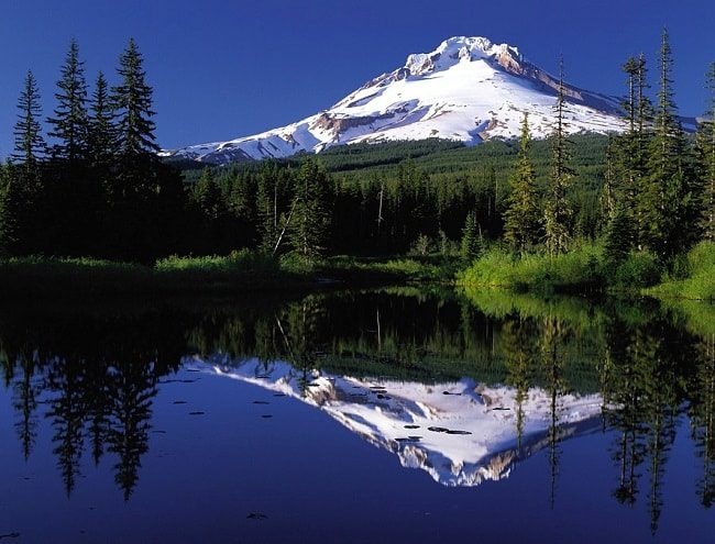 Le Mont Hood en Oregon