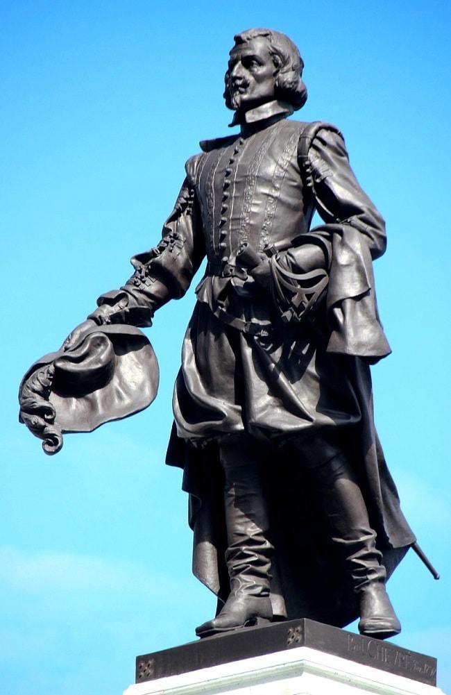 Statue de Samuel Champlain