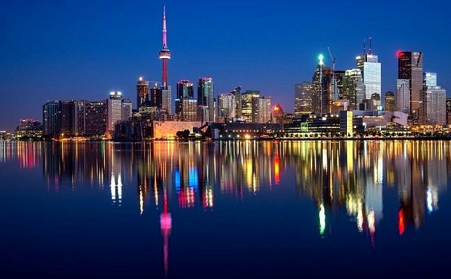 La ville de Toronto, capitale de la province de l'Ontario