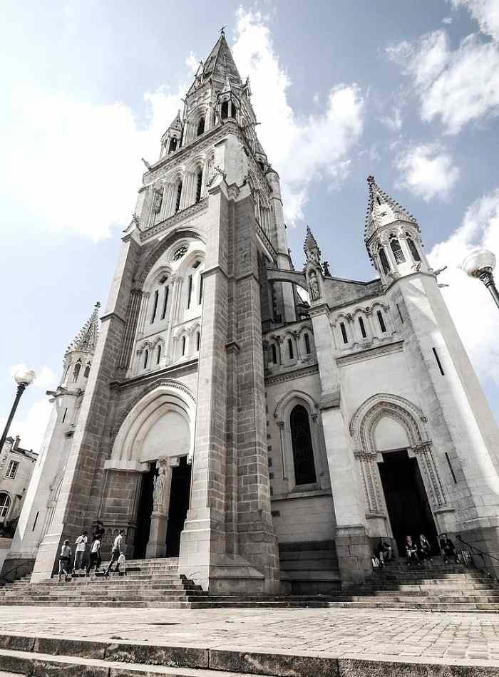 La basilique Saint-Nicolas de Nantes