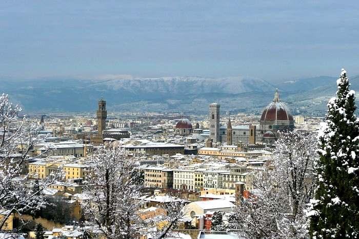Florence en hiver