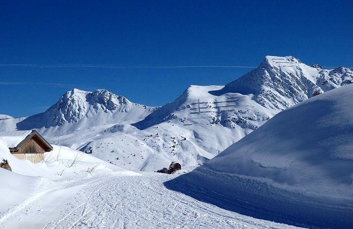 Piste de ski en France