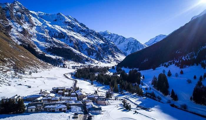 Station de ski familiale en France