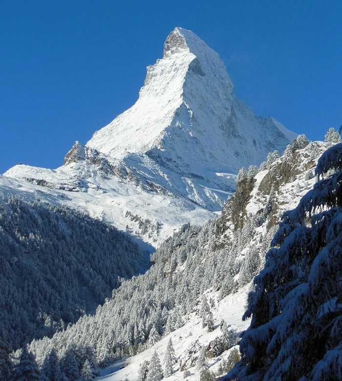 Zermatt, une des meilleures stations de ski en Suisse