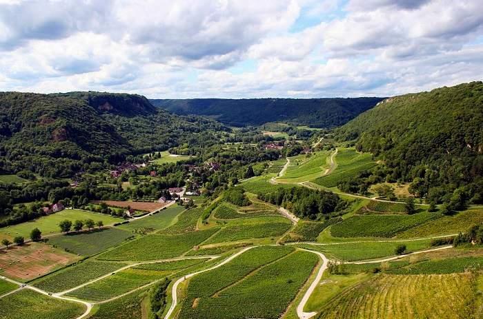 Balade au coeur des vignobles du Jura